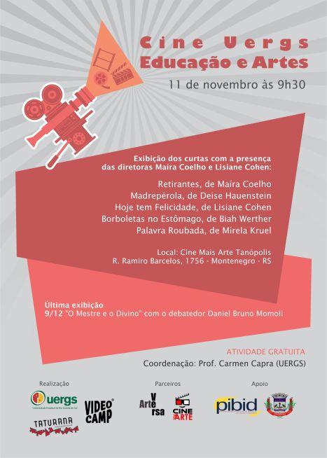 Cine Uergs Educação e Artes-novembro definitivo